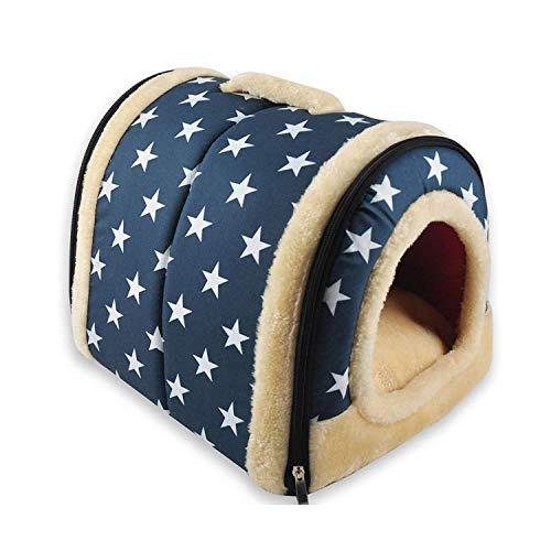 YAN 2 En 1 Casa Y Sofá para Mascotas, Lavable A Máquina...