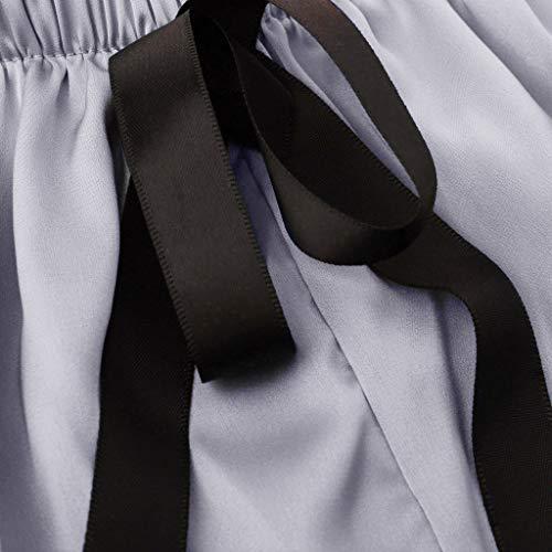 BBring 2020 Neu Einfarbig Satin Tanga M Grau 489155 (Bikini Bottom up Bikinislip G-String V-String Höschen Hipster ReizwäSche Unterhosen Panties Sportunterwäsche Bodywear) - 6