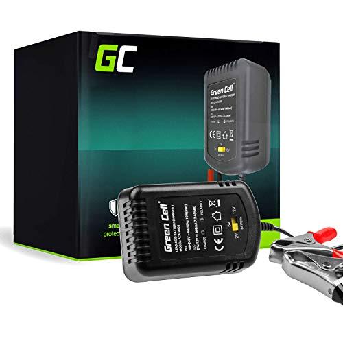 Green Cell® Caricabatterie AGM, GEL, MF, SLA, VRLA Caricatore Intelligente (Tensione 2V / 6V / 12V) Caricabatterie per auto Scooter Moto Truck Automobile Qu