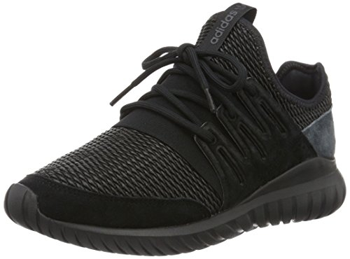 adidas Tubular Radial, Scarpe Running Uomo, Nero (Core Black/Dark Grey), 40 EU