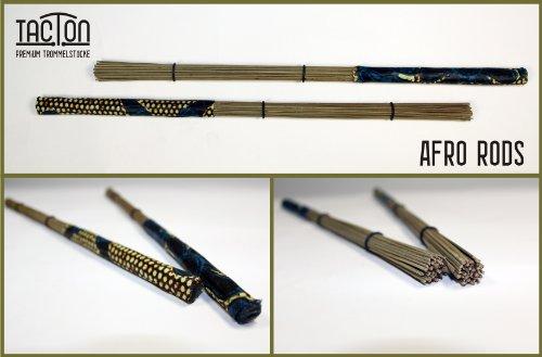 Afro Rod / Rods / Brush / Brushes für Cajon und Schlagzeug