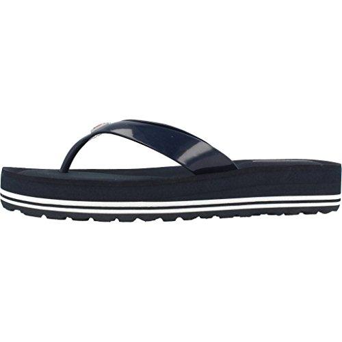 Sandales, couleur Blue , marque TOMMY HILFIGER, modèle Sandales TOMMY HILFIGER MIRNA 1R Blue Azur