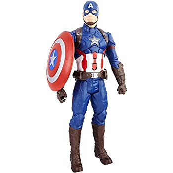 Marvel Avengers C2163 - Figurine Electronique - Captain America - Titan 30 cm