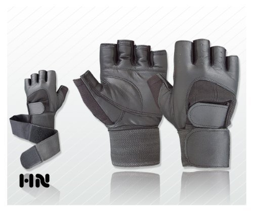 Leather Pro Lift – Weight Lifting Gloves