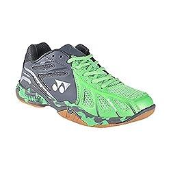 Yonex Super ACE Light Badminton Shoes Green and Grey