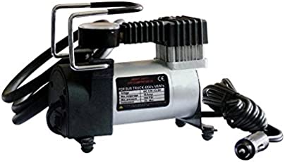Varshine Super premium Heavy Air Pressure Metal Pump For All Cars & Big Vehicle 150 PSI 12V (Universal) (Black & Silver) P339