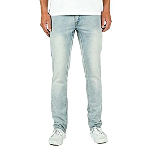 Volcom Vorta Denim, Color: Sure Shot Light Wash, Size: 31 32