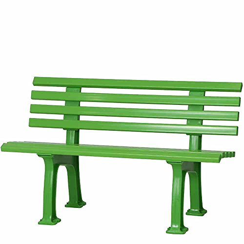 BLOME-TIL. Ibiza Bank, Kunststoff, apfelgrün, 54 x 120 x 74 cm, 50927