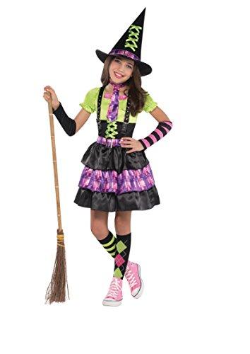 Christy 's Mädchen Spellbound Hexe Kostüm (Kostüme Spellbound Hexe)