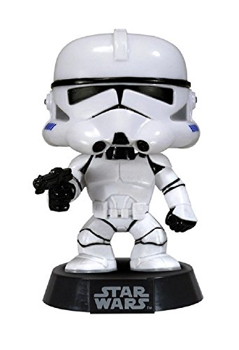 Star Wars Clone Trooper POP! Vinyl 10cm ´Deformed´Wackelkopf-Figur Clone Trooper Bobble Head