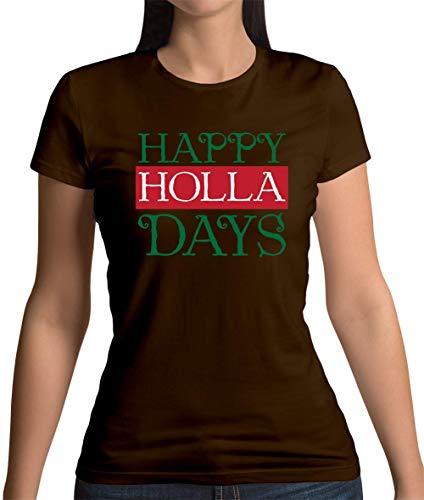 Happy Holla Days - Damen T-Shirt -