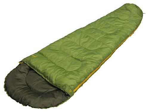 Best Camp Schlafsack Yanda, grün, 220 x 75/50 cm (DE)