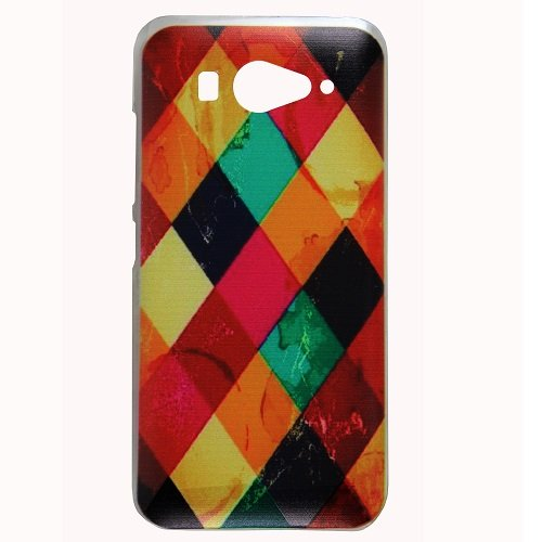 Casotec Clear Sides Print Design Hard Shell Back Case Cover for Sony Xperia M2  available at amazon for Rs.199