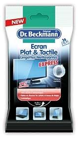 Dr. Beckmann Lingettes Ecran Plat et Tactile Lot de 2