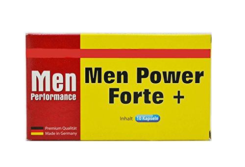 Men Power Forte+ Männer-Pille I 40 Männer-Kapseln I Natürliches und rezeptfreies Präparat für den Mann I 100% Pflanzlich I Für Lust, Liebe, Leidenschaft