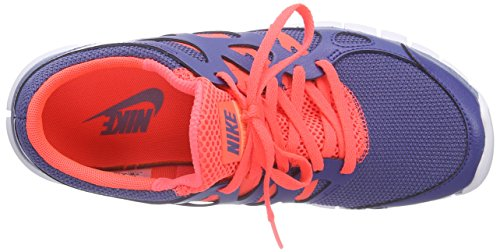 Nike Wmns Free Run 2 Ext, sneaker femme Blue Legend/Cool Blue-Hot Lava-White