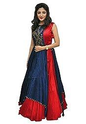 Omstar Fashion Raw Silk Lehenga Choli (OMD_01_09_Red_42)