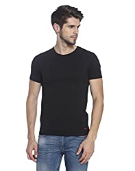 Jack & Jones Mens T-Shirt (5712831138122_12098327Black_X-Large)
