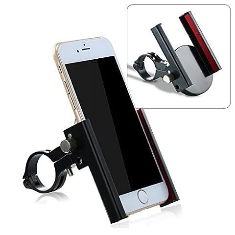 Bike Phone Holder, NATUCE Universal Motorrad Lenker Befestigung und Fahrrad Telefon Mount Stand Cradle mit 360 drehen