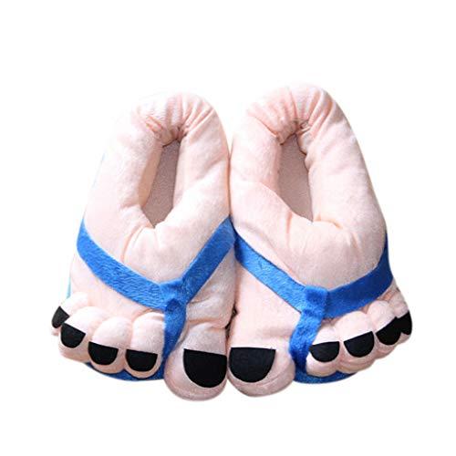 Rcool inverno pantofole uomo donna unisex home morbido antiscivolo cotone scarpe in casa caldo peluche camera da letto casa pattini grandi piedi cute cartoon 5 colore,