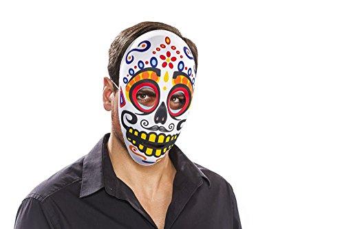(Festartikel Müller Maske Dia de los muertos Tag der Toten männlich Karneval Halloween)