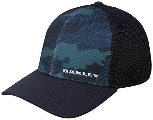 Oakley Herren Silicon Bark Trucker Print 2.0 Cap - Fathom - L/XL