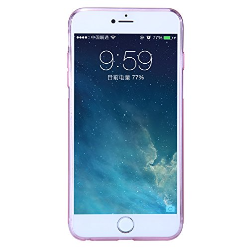Nillkin TPU Cover Case for iPhone 6 Plus - White (Retail Packaging) rose