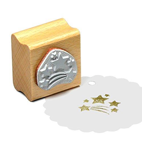 Simplydeko Motivstempel | Viele Bastelstempel und Stamps-Motive | Wunderschöne Stempel (Sternregen 30 x 30 mm)