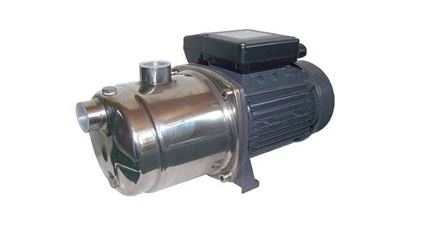 AWM 1300W Kreiselpumpe Edelstahl 5 stufige Hauswasserwerk Jetpumpe max 5,5bar