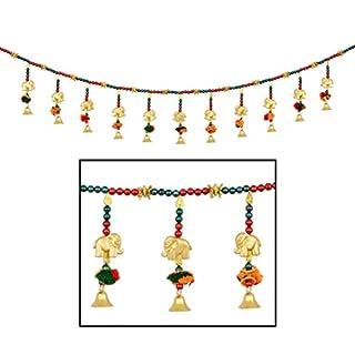 Toran Door Hanging Toran Window Valance Dream Catcher Home Décor interior pooja bandanwaar Diwali gift festival colorful indian handicraft love.TORAN48
