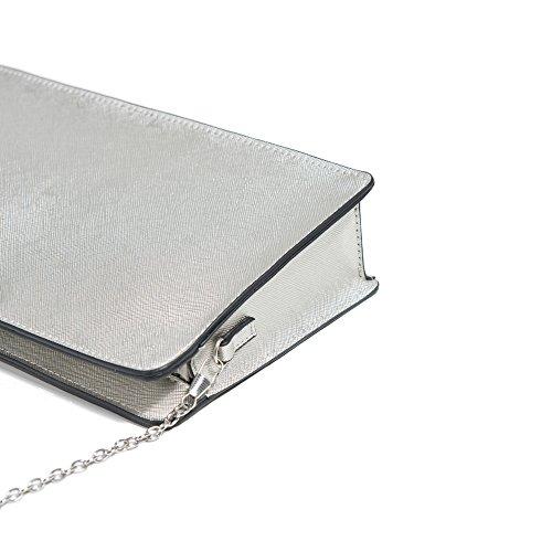 Parfois - Umhängetasche Gold Bar - Damen Silber