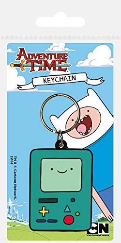 Adventure Time Beemo Rubber Keychain