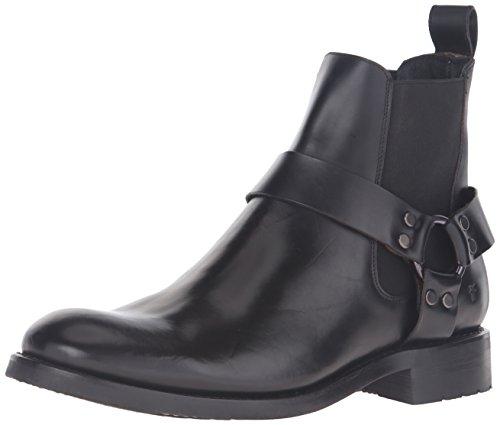 Frye Stone Harness Chelsea Cuir Chaussure de Travail Black