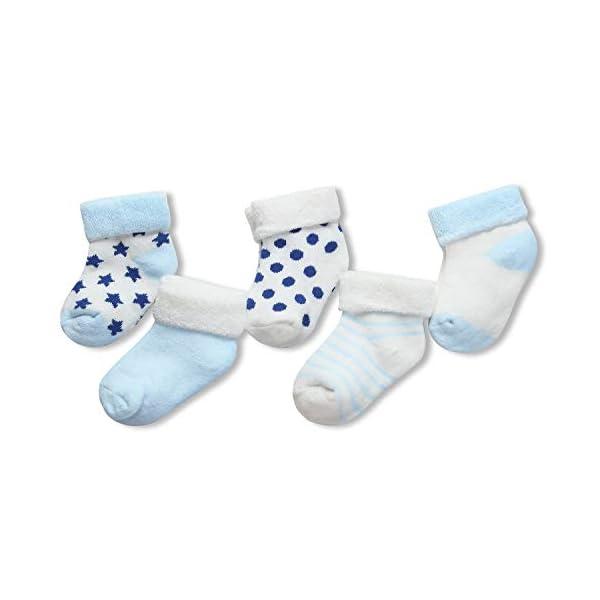 Adorel Calcetines Invierno de Rizo para Bebé Niño Lote de 5 2