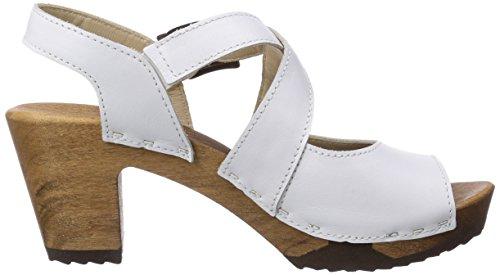 Woody Elenor 12233, Chaussures femme Blanc - Blanc