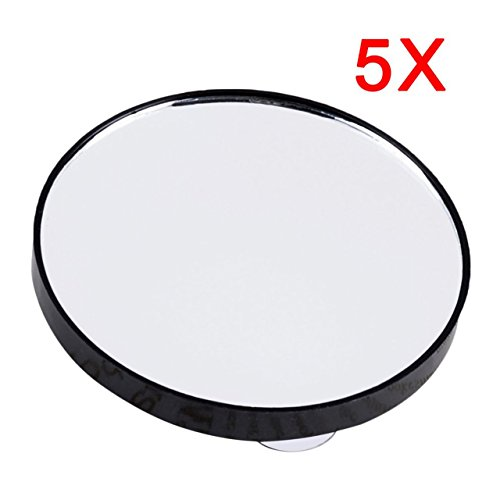 Heaviesk Vanity Makeup Mirror 5X 10X 15X Espejo aumento