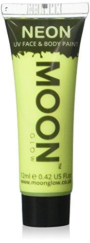 Moon Glow - Neon UV Körperfarben Bodypaint - 12ml Weiß