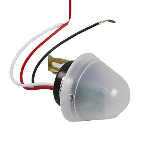 ATOPLEE 1pcs 10A DC/AC 12V einstellbare Foto Steuer-Sensor-Auto On Off Lichtschalter -