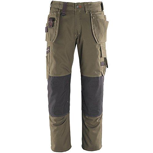 MASCOT® FRONTLINE Bundhose Servicehose Lindos mit vielen Taschen, Beinlänge 90cm dunkeloliv