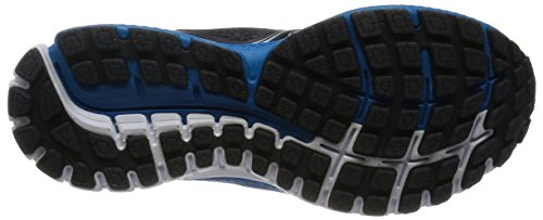 Brooks Ghost 8 M, Chaussures de Running Entrainement Homme Multicolore - Anthracite/Methyl Blue/White