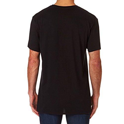 Herren T-Shirt Billabong Zenith Contrast T-Shirt Black