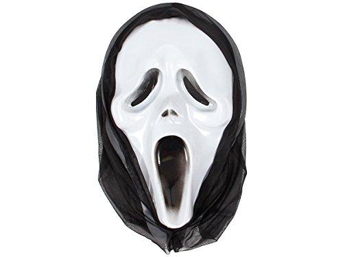 ke Karnevalsmaske Fasching Schrei-Maske 98/2007 von ALSINO (Leicht Zu Ziehen Halloween-maske)