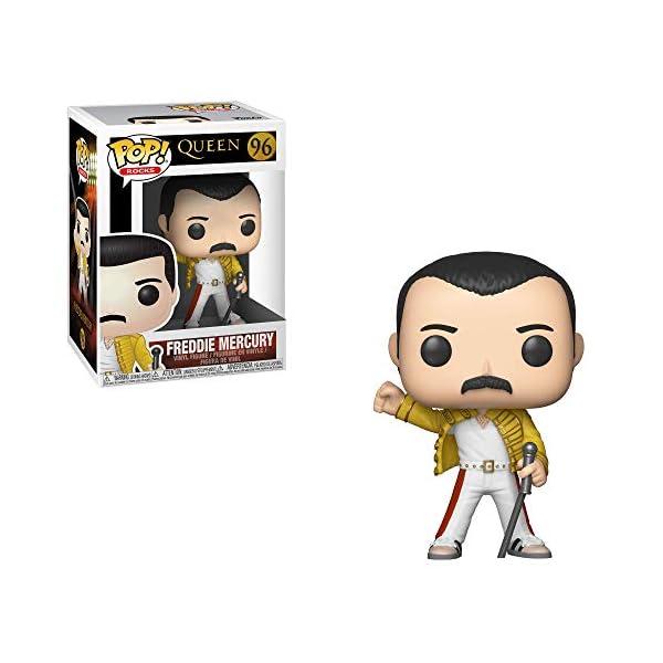 Funko Pop Freddie Mercury en Wembley 1986 (Queen 96) Funko Pop Cantantes y Músicos