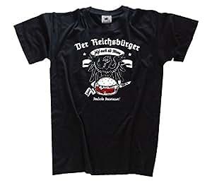 Der Reichsbürger jetzt auch im Menu Kids Shirt Kinder-Shirt Schwarz 104