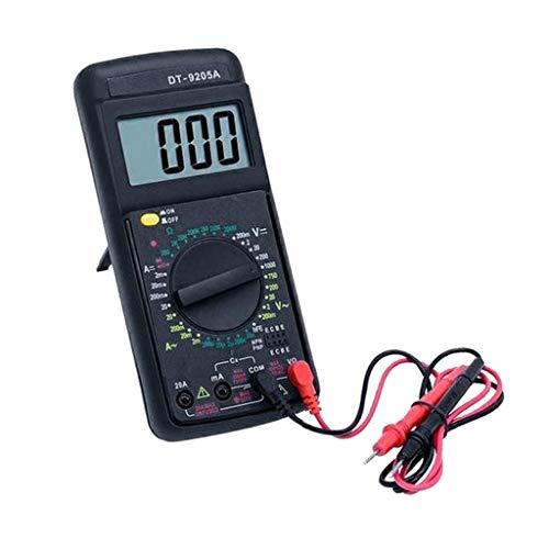 FLAMEER Digitale Multimeter Prüfgeräte, Messung von Spannung Strom(AC/DC) Widerstand Diodentest