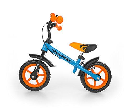 Spokey Jungen Milly Dragon H-Fahrradbekleidung, Kinder, Orange, blau, Universal