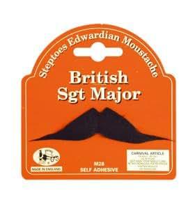 Pams Fausse moustache sergent-major britannique