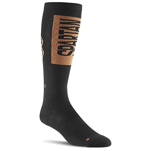 Reebok Spartan U Knee Sock - Calcetines unisex, color negro, talla M