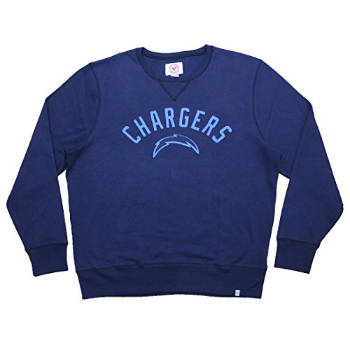 NFL San Diego Chargers Herren Athletisch Pullover Thermal Sweatshirt Dunkelblau