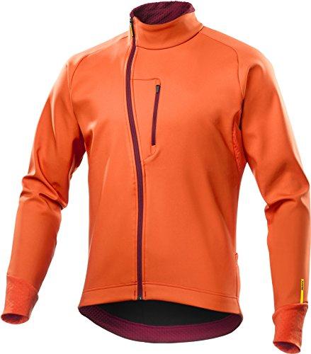 Mavic Aksium Thermo Winter Fahrrad Softshell Jacke orange 2017: Größe: XXL (58/60)